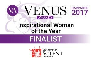Susan Hayward, finalist, Venus Awards Hampshire 2017