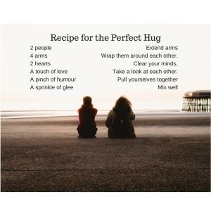 Recipe for a hug